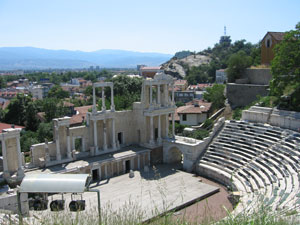 The Amphitheatre in Plovdiv