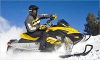 Skidoo in Borovets